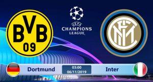 Soi kèo Dortmund vs Inter Milan 03h00 ngày 06/11: Liệu có phục hận