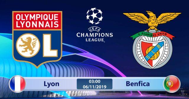 Soi kèo Lyon vs Benfica 03h00 ngày 06/11: Bại binh phục hận