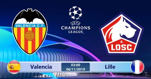 Soi kèo Valencia vs Lille 03h00 ngày 06/11: Bầy Dơi khát máu