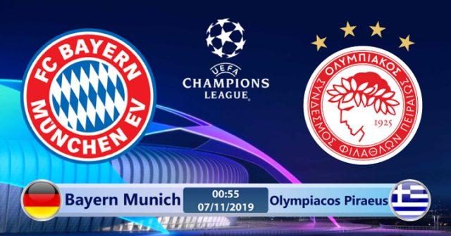 Soi kèo Bayern Munich vs Olympiacos Piraeus 00h55 ngày 07/11: Khó khăn
