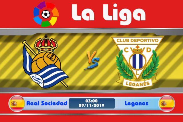 Soi kèo Real Sociedad vs Leganes 03h00 ngày 09/11: Tạm thời dẫn đầu