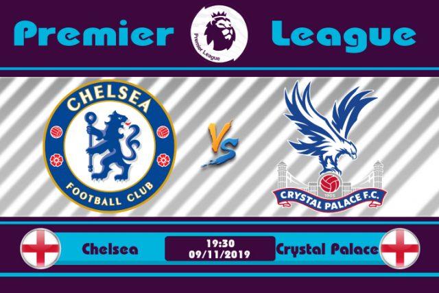 Soi kèo Chelsea vs Crystal Palace 19h30 ngày 09/11: Đại bàng gặp nạn
