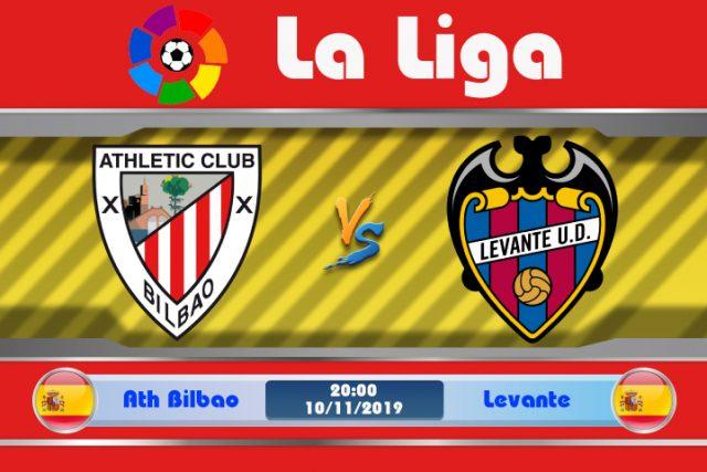 Soi kèo Ath Bilbao vs Levante 20h00 ngày 10/11: Vùng đất bất hảo