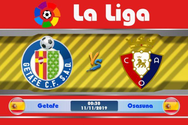 Soi kèo Getafe vs Osasuna 00h30 ngày 11/11: Quá khử ảm đạm