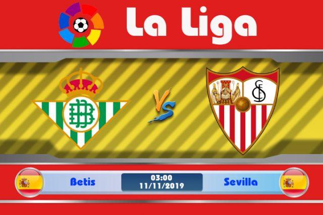 Soi kèo Betis vs Sevilla 03h00 ngày 11/11: Thiếu ổn định đất khách