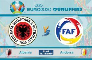Soi kèo Euro Albania vs Andorra 02h45 ngày 15/11: Chiến đấu vì danh dự