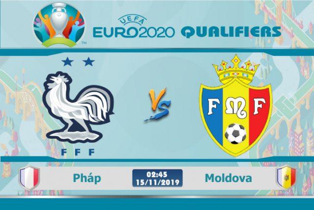 Soi kèo Euro Pháp vs Moldova 02h45 ngày 15/11: Chiến thắng trong tay