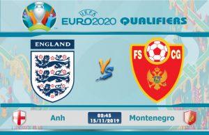 Soi kèo Euro Anh vs Montenegro 02h45 ngày 15/11: Dâng hiến 3 điểm