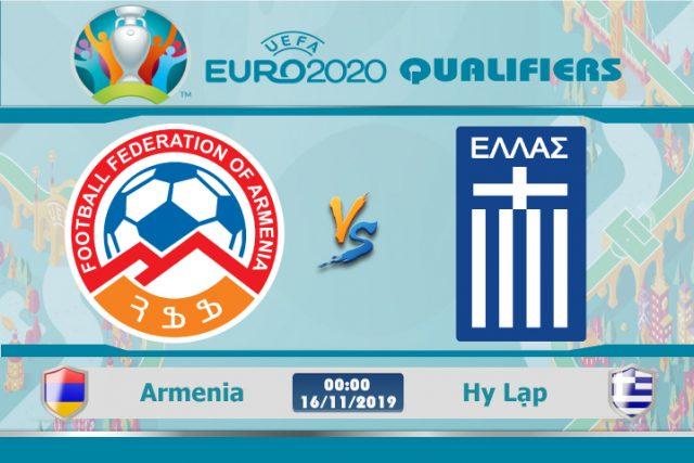Soi kèo Euro Armenia vs Hy Lạp 00h00 ngày 16/11: Còn nước còn tát