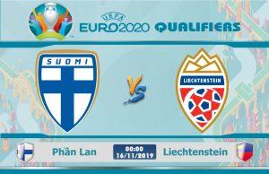 Soi kèo Euro Phần Lan vs Liechtenstein 00h00 ngày 16/11: Chắt chiu từng điểm