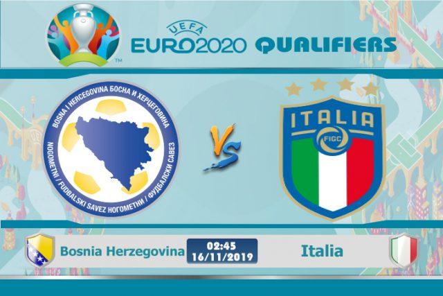 Soi kèo Euro Bosnia Herzegovina vs Italia 02h45 ngày 16/11: Liệu có buông thả