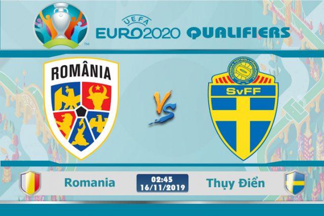 Soi kèo Euro Romania vs Thụy Điển 02h45 ngày 16/11: Cơ hội cuối cùng