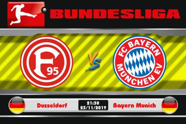 Soi kèo Dusseldorf vs Bayern Munich 21h30 ngày 23/11: Trở lại quỹ đạo