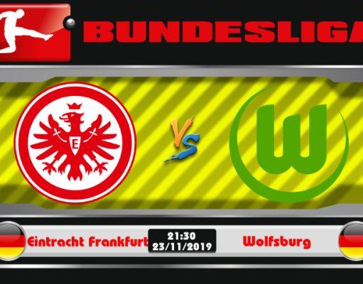 Soi kèo Eintracht Frankfurt vs Wolfsburg 21h30 ngày 23/11: Xóa đi vết nhơ