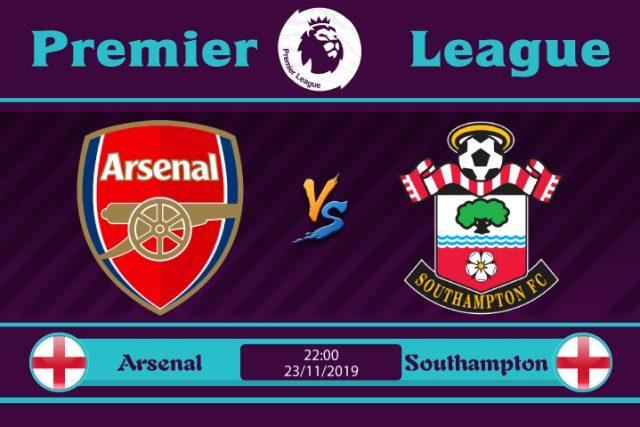 Soi kèo Arsenal vs Southampton 22h00 ngày 23/11: Cải thiện phong độ