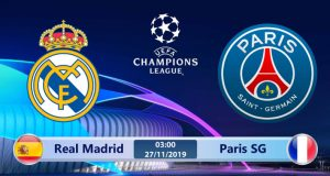Soi kèo Real Madrid vs Paris SG 03h00 ngày 27/11: Chỉ cần kết quả hòa