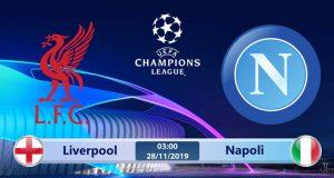 Soi kèo Liverpool vs Napoli 03h00 ngày 28/11: Quyết định ngôi đầu