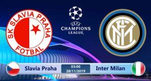 Soi kèo Slavia Praha vs Inter Milan 03h00 ngày 28/11: Không còn đường lui