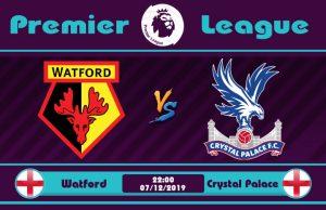 Soi kèo Watford vs Crystal Palace 22h00 ngày 07/12: Tuột dốc không phanh
