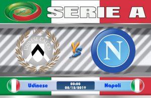 Soi kèo Udinese vs Napoli 00h00 ngày 08/12: Đối thủ ưa thích