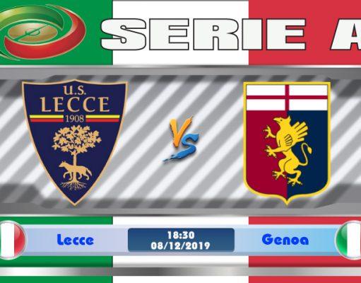 Soi kèo Lecce vs Genoa 18h30 ngày 08/12: Bỏ xa nhóm đèn đỏ