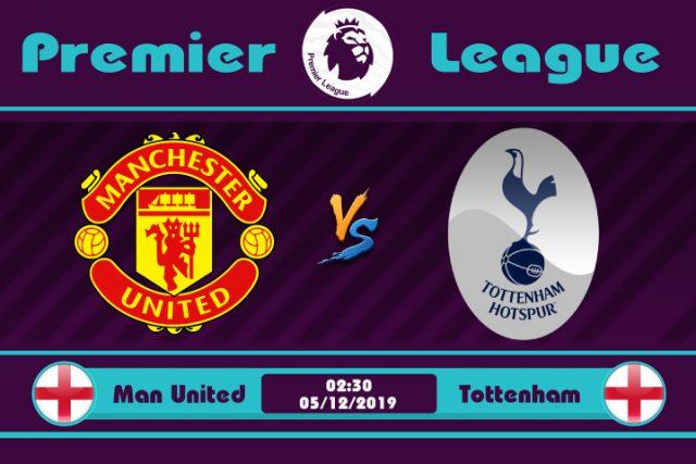 Soi kèo Manchester United vs Tottenham 02h30 ngày 05/12: Trở về Old Trafford