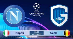 Soi kèo Napoli vs Genk 00h55 ngày 11/12: Không còn động lực