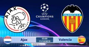 Soi kèo Ajax vs Valencia 03h00 ngày 11/12: Chiến thắng để đi tiếp