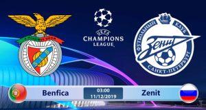 Soi kèo Benfica vs Zenit 03h00 ngày 11/12: Còn nước còn tát
