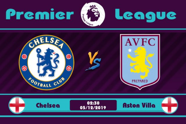 Soi kèo Chelsea vs Aston Villa 02h30 ngày 05/12: Chè Xanh trút giận