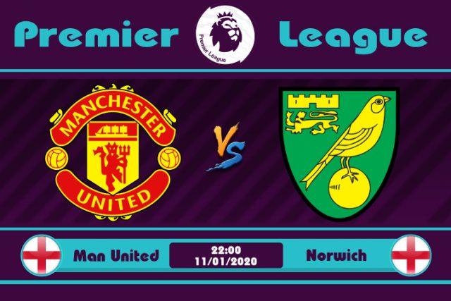 Soi kèo Manchester United vs Norwich 22h00 ngày 11/01: Vùng đất Quỷ dữ