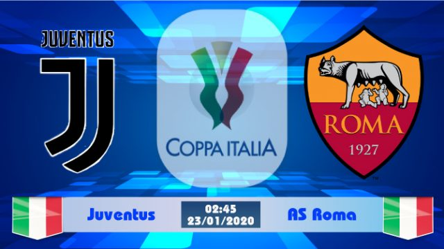 Soi kèo Juventus vs AS Roma 02h45 ngày 23/01: Turin tiếp thêm sức