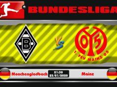 Soi kèo Monchengladbach vs Mainz 21h30 ngày 25/01: 3 điểm đầu năm