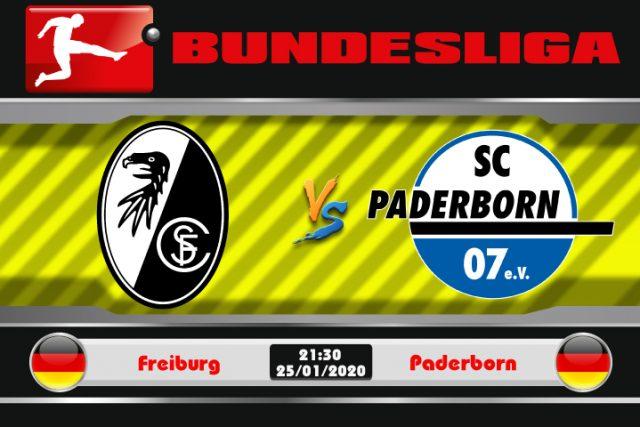Soi kèo Freiburg vs Paderborn 21h30 ngày 25/01: Bước vào top 6