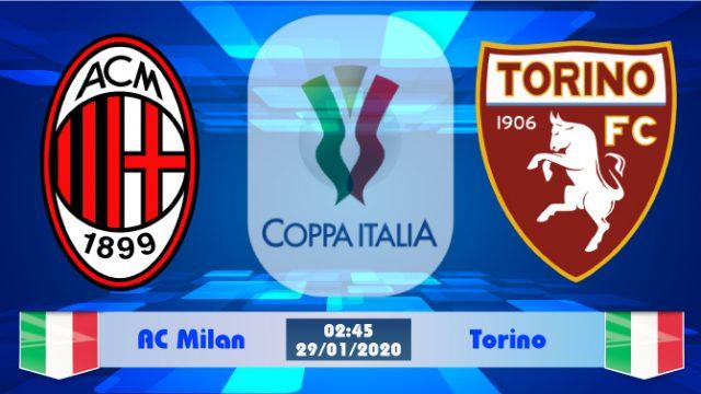 Soi kèo AC Milan vs Torino 02h45 ngày 29/01: Tiếp đà thăng hoa