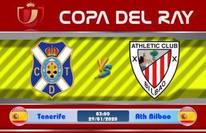 Soi kèo Tenerife vs Ath Bilbao 03h00 ngày 29/01: Không được chủ quan