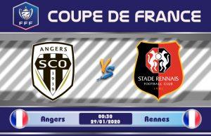 Soi kèo Angers vs Rennes 00h30 ngày 29/01: Khắc tinh giáng lâm