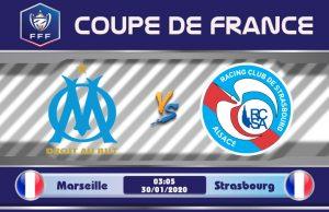 Soi kèo Marseille vs Strasbourg 03h05 ngày 30/01: Bóng tối bao trùm