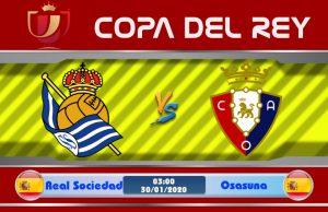 Soi kèo Real Sociedad vs Osasuna 03h00 ngày 30/01: Đội khách gặp khó