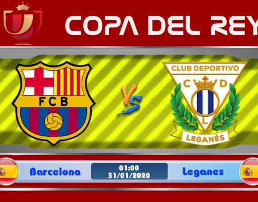 Soi kèo Barcelona vs Leganes 01h00 ngày 31/01: Trút cơn thịnh nộ