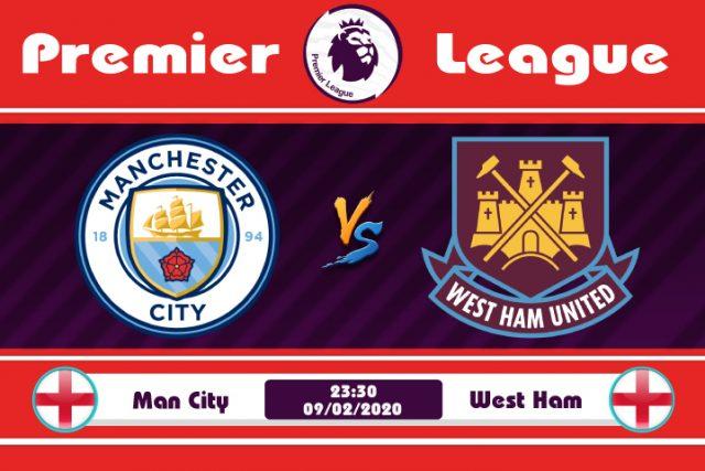 Soi kèo Man City vs West Ham 23h30 ngày 09/02: Chủ nhà trút giận