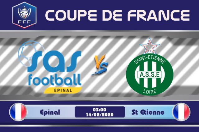 Soi kèo Epinal vs St Etienne 03h00 ngày 14/02: Cơn giông lạ lẫm