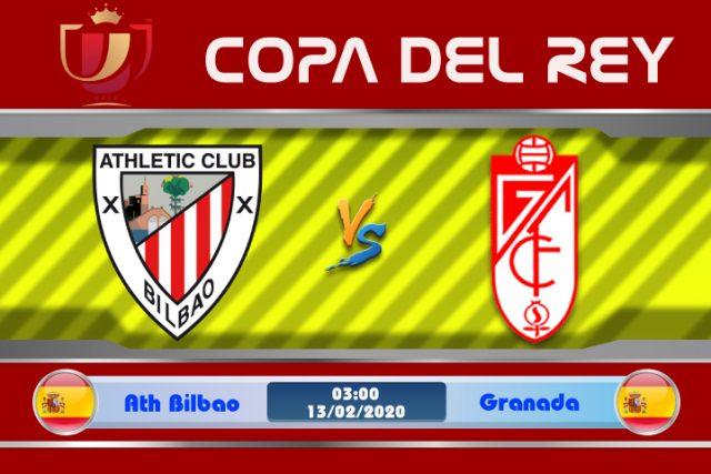 Soi kèo Ath Bilbao vs Granada 03h00 ngày 13/02: Tử huyệt nơi đất khách
