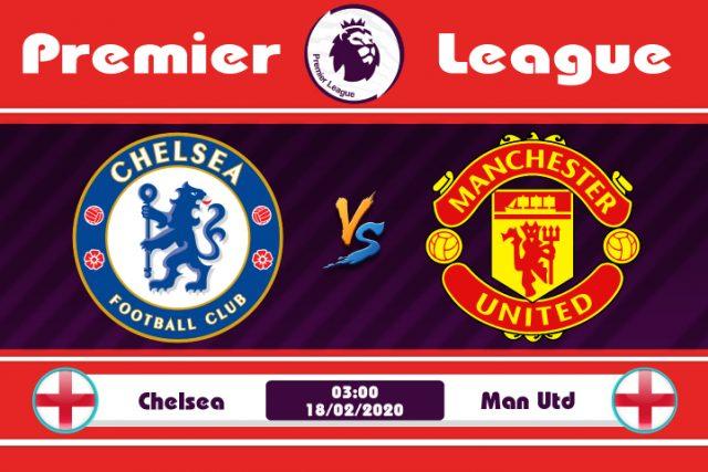 Soi kèo Chelsea vs Manchester United 03h00 ngày 18/02: Cơ hội phục thù