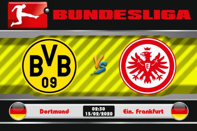 Soi kèo Dortmund vs Eintracht Frankfurt 02h30 ngày 15/02: Ám ảnh đất khách