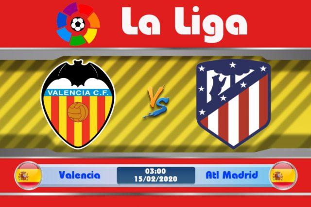 Soi kèo Valencia vs Atletico Madrid 03h00 ngày 15/02: Khủng hoảng nhân lực