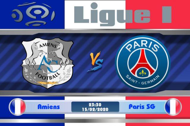 Soi kèo Amiens vs Paris SG 23h30 ngày 15/02: Chiến thắng vừa phải