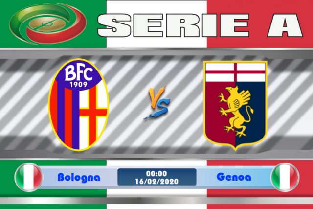 Soi kèo Bologna vs Genoa 00h00 ngày 16/02: Tinh thần phấn chấn