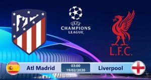 Soi kèo Atletico Madrid vs Liverpool 03h00 ngày 19/02: Hàng thủ vững chắc