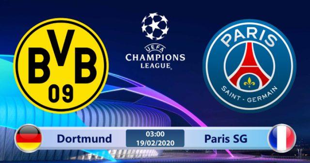 Soi kèo Dortmund vs Paris SG 03h00 ngày 19/02: Gặp lại cố nhân